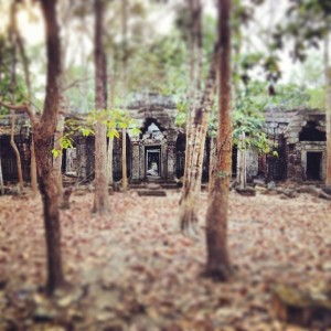 Angkor Archaeological Park, Cambodia features some hidden temples in addition to Angkor Wat