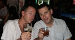Scott Coates and Trevor Ranges: Co-hosts of Talk Travel Asia