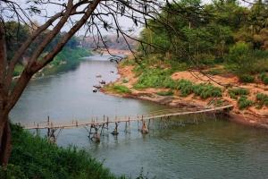 River life, Luang Prabang