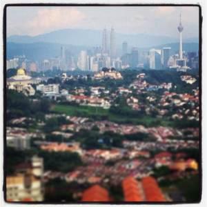 Kuala Lumpur skyline
