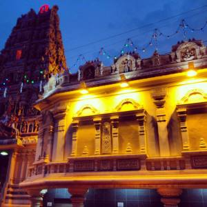 One of KL's Hindu temples