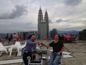What to do in Kuala Lumpur with Talk Travel Asia hosts Trevor and Scott