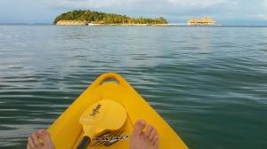 Song Saa, Cambodia seen while paddling