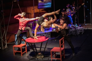 Students/Performers at Phare, The Cambodian Circus in Siem Reap on TalkTravelAsia