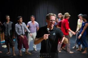 Craig Dodge of Phare, The Cambodian Circus in Siem Reap