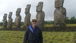 Talk Travel Asia guest Gary Arndt on location in Easter Island