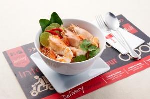 Tom Yam Goong at Foodloft in Bangkok - Favorite Food episode on Talk Travel Asia