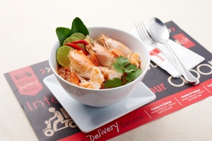 Tom Yam Goong at Foodloft in Bangkok - Favorite Food episode on Talk Travel Asia