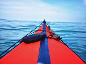 On the open water