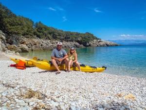 Dave & Deb enjoying Croatia