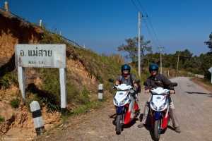 Motorcycling in northern Thailand