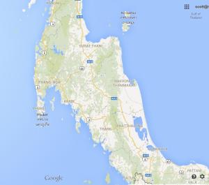 Thailand's famed SW coast