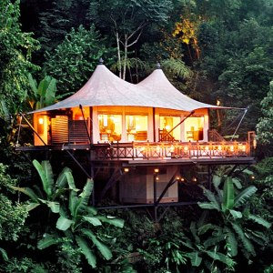 The exquisite Four Seasons Tented Camp, Chiang Rai, Thailand