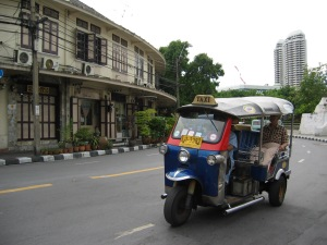 Tuk Tuk in Thailand on Talk Travel Asia, tantalizing travel tales II