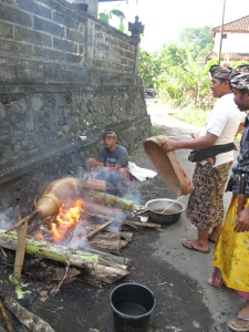 Bali temple ceremony in Tagallalang on Talk Travel Asia Podcast