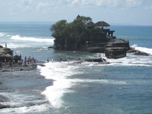 Tanah Lot Temple, Tabanan Bali on Talk Travel Asia Podcast