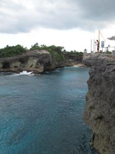 Cliff Jump Nusa Ceningan, Bali on Talk Travel Asia podcast