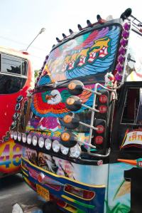 Funky Thai buses are very popular photo courtesy Very Thai