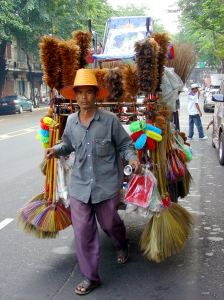Brooms, we have brooms! photo courtesy Very Thai
