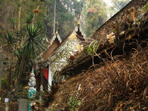 Chiang Dao Temple - courtesy of www.SmilingAlbino.com