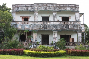 Abandoned Colonial Mansion, Kep