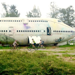 You may even see an old plane