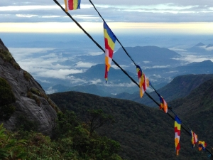 Atop Adam's Peak, Sri Lanka