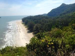 Laem Sala Beach at Khao Sam Roi Yot National Park