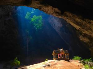 The very impressive Phraya Nakhon Cave at Khao Sam Roi Yot National Park