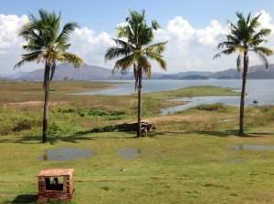 The lake at Kaeng Krachan National Park