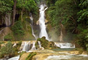Kuang Si Waterfalls, Laos; courtesy Khiri Travel