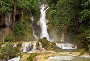 Kuang Si Waterfalls, Laos; courtesy Khiri Travel