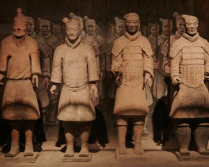 Terracotta warriors, Xian, China, courtesy WildChina