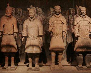 Terracotta warriors, Xian, China, courtesy WildChina