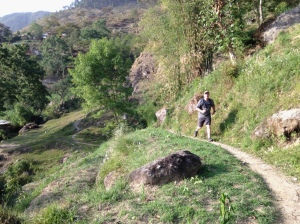 Scott at Shivapuri National Park, Nepal