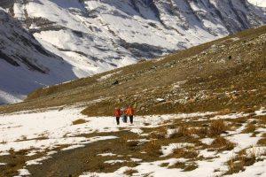 The long, open trail; courtesy Robin Boustead
