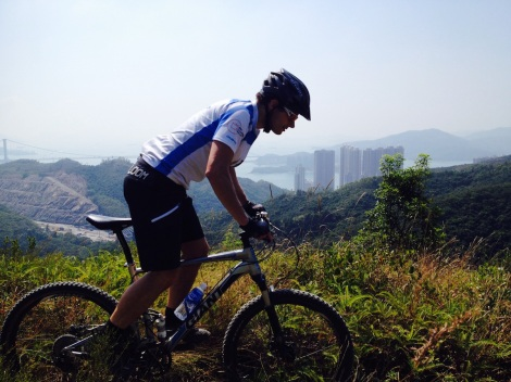 Steve Coward talks Mountain Biking in Hong Kong with Talk Travel Asia Podcast