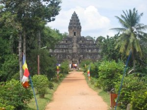 Bakong Temple Angkor Cambodia on Talk Travel Asia podcast