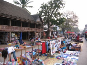 Luang Prabang Night Market in 2006: on the cusp of change. Talk Travel Asia Podcast