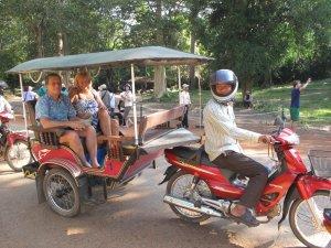 "Ramork: The Cambodian ""tuk tuk"" on Talk Travel Asia Podcast"