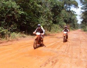 Trevor Ranges Dirt Biking the Dancing Roads in Cambodia on Talk Travel Asia Podcast