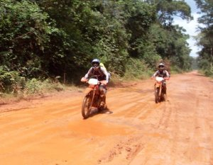Trevor Ranges Dirt Biking the Dancing Roads in Cambodia on Talk Travel Asia Podcast