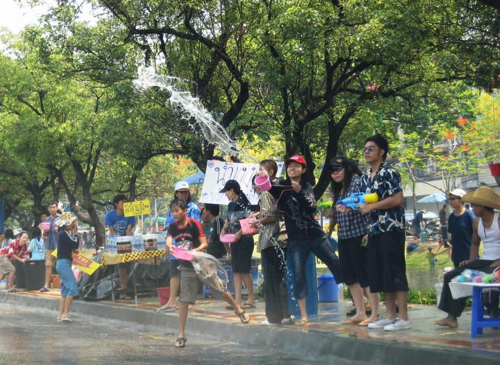 Talk Travel Asia: Episode 61 Interesting Asian Holidays: Songkran Thai New Year in Chiang Mai: Photo by Trevor Ranges