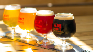 Mmm... beer (Photo (and beers) courtesy of Heart of Darkness Brewery Ho Chi Minh City))