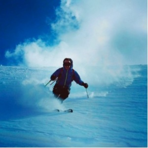 Enjoying fresh snow at Dizin while Skiing in Iran -Talk Travel Asia podcast