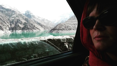 Kathleen on her way to the slopes- Skiing in Iran on Talk Travel Asia podcast.jpg