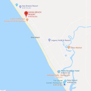 Mainland beaches in Sihanoukville Cambodia