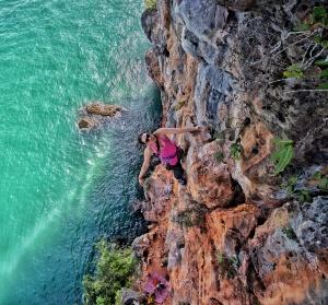 Jojo Yee on Talk Travel Asia Podcast Rock Climbing in Asia