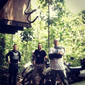 Scott and Trevor bike trip to Preah Khan Kompong Svay, Cambodia