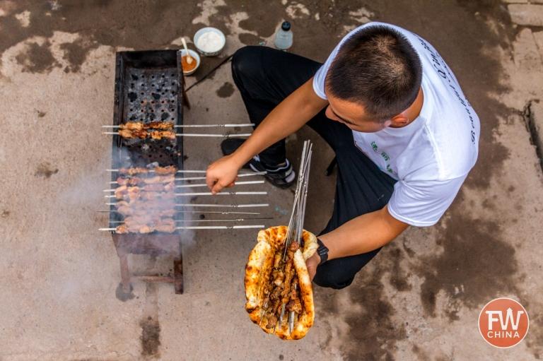 Cooking in Xinjiang China Courtesy of Josh Summers